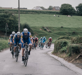 Team Quickstep Floors pacing the peloton  97th Brussels Cycling Classic (1.HC) 1 Day Race: Brussels > Brussels (201km)